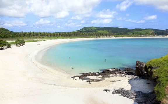 White sand beach, Lombok