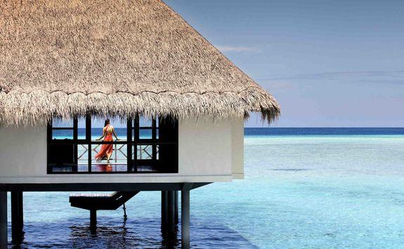 over-water luxury villa Maldives