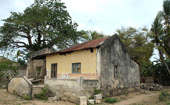 Ibo island ruins