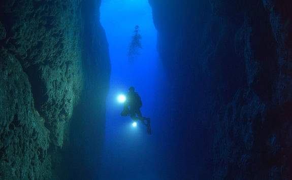 inland sea dive site
