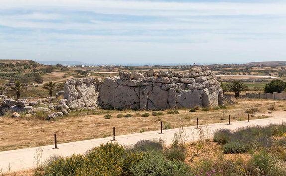 gantija megalithic temple