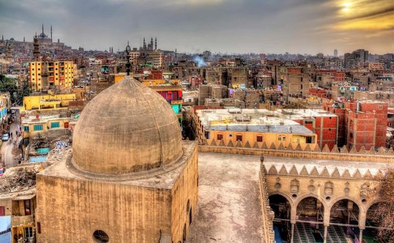 cairo roofs egypts