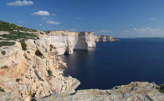 southern coast gozo