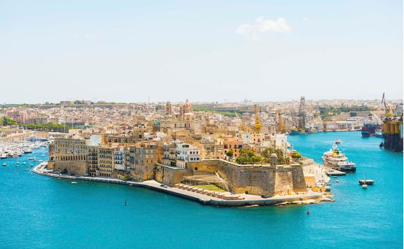 Valletta city view