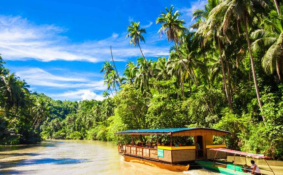 boat loboc river