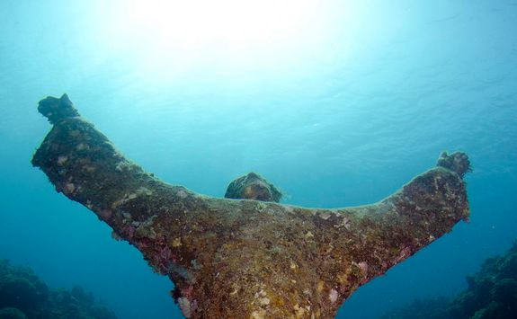 underwater sculture park in grenada