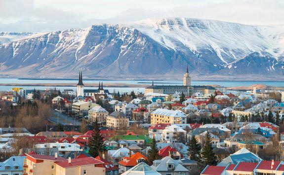 reykjavik city scene