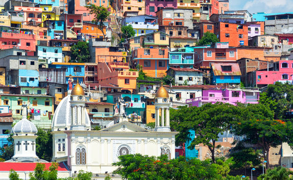 guayaquil colourful houses