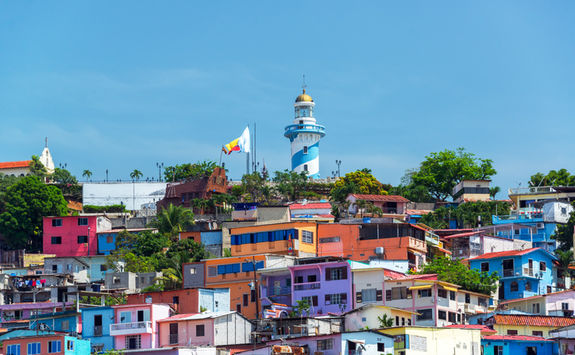 santa ana hill and lighthouse guayaquil