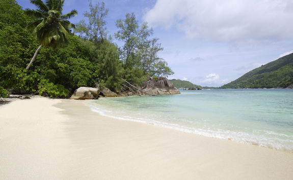 mahe secluded beach