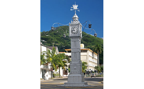 victoria clock tower mahe