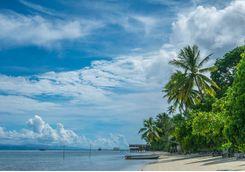 Kri Island in Papua Indonesia