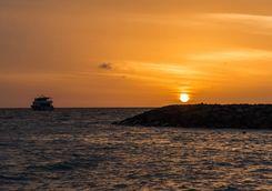 sunset sailing maldives
