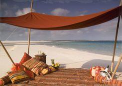 private island picnic africa