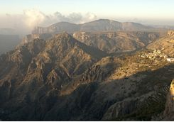 Hajar Mountains, Oman