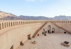 Inside the Fort of Nizwa
