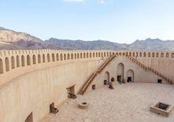 Inside the Fort of Nizwa