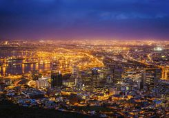 Cape Town in the Evening