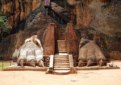 Ancient fortress Sri Lanka