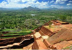 View from Sigiriya