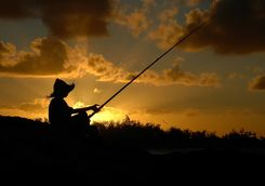 tofo sunset fishing