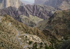 hajar mountains oman