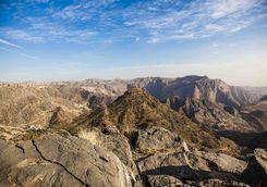 Salalah mountains