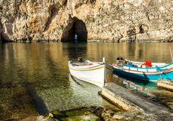 entrance inland sea gozo