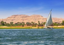 falukas sailboat luxor