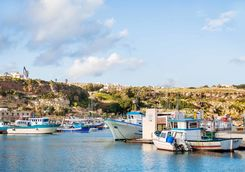 harbour in gozo