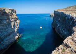 comino eastern cliffs