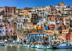 Sicily harbour
