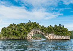 rock islands arch palau