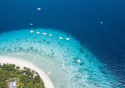 bohol island aerial