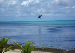 helicopter palau