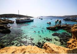 Blue lagoon gozo malta