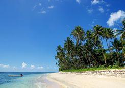 sand beach vanua levu island