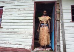 fijian man dressed