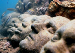 Grenada underwater sculpture park