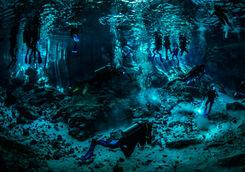 cenotes divers