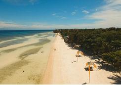 stretch of bohol beach