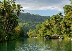 loboc river and boats
