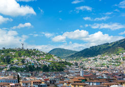 quito view of city