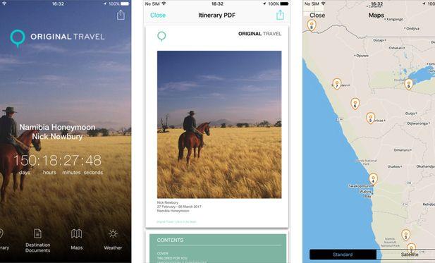 Original Travel App