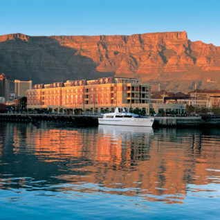 Exterior at Cape Grace, luxury hotel in Cape Town, South Africa