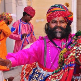 Expert-Led Journey: Rajasthan International Folk Festival (RIFF) with Amelia Stewart