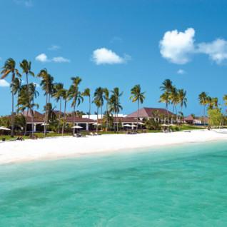 The beach at The Residence Zanzibar, luxury hotel in Tanzania