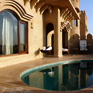 Mihir Garh , luxury hotel in India