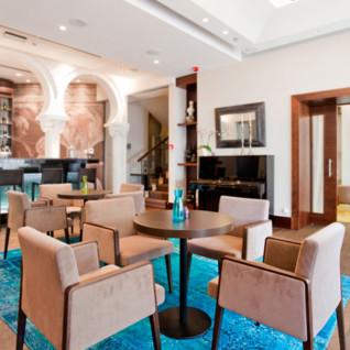 The lobby area at Villa Orsula, luxury hotel in Croatia