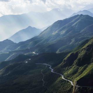 Winding Road Through Sapa